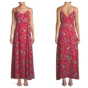 Nannette Lepore Dress Red Print Size 8